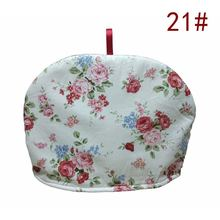 Простой китайский цветочный хлопковый домашний чайник сохраняет тепло/Защита от ожогов/Пыленепроницаемый Чехол