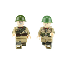 WW2 Military Helmet Accessories Building Blocks Army Russia Soldiers Figures parts Bricks blocks toys