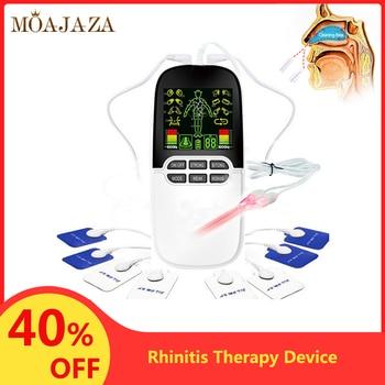 цена на Nose Allergic Rhinitis Therapy Device Rhinitis Sinusitis Treatment Body Nose Massage Hay fever Low Frequency Pulse Laser Machine
