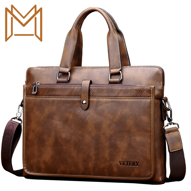 Special Man Handbag Single Shoulder Satchel Package Business Affairs Briefcase Computer Package