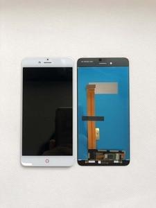 Image 5 - Высококачественный черный/белый для ZTE nubia Z11 mini S NX549J ЖК дисплей + кодирующий преобразователь сенсорного экрана в сборе, замена