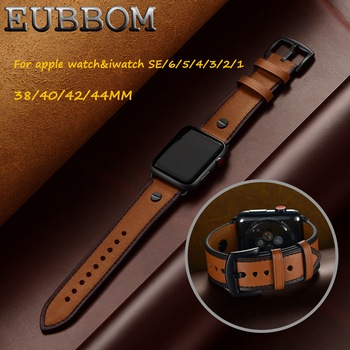 2020NEW!! For Apple watch SE/6/5/4/3/2/1 &iwatch band first layer leather strap watch band 38/40/42/44mm for apple watch band [vk] rcl 10 1 cb 12 cr 10 layer 10 knife 12 gear 360 degree band switch
