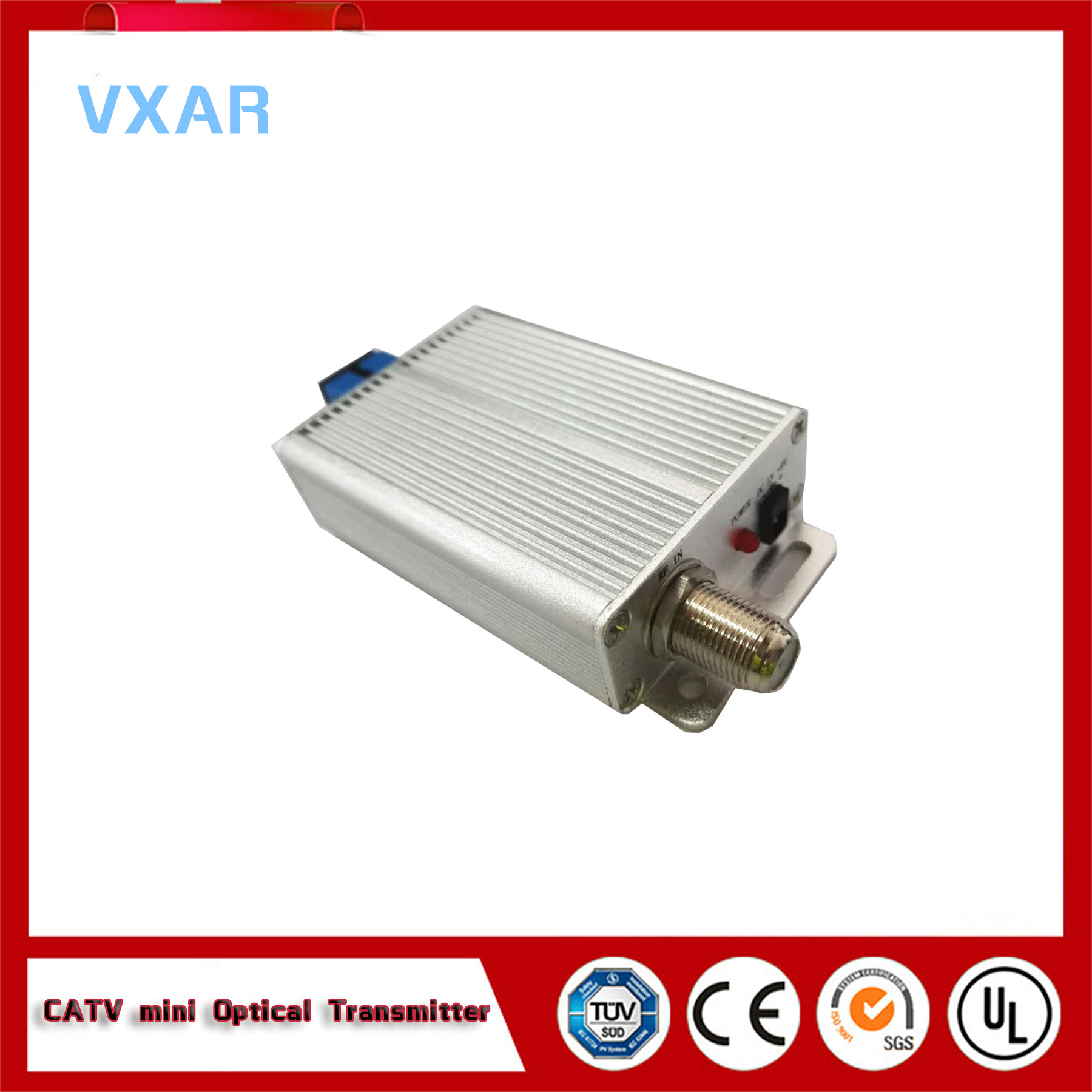 China supplier 1550nm catv optical transmitter 3mw
