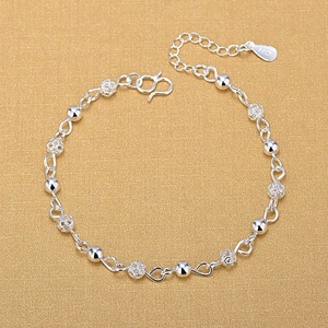 Silver Anklets 925 Fashion Sil