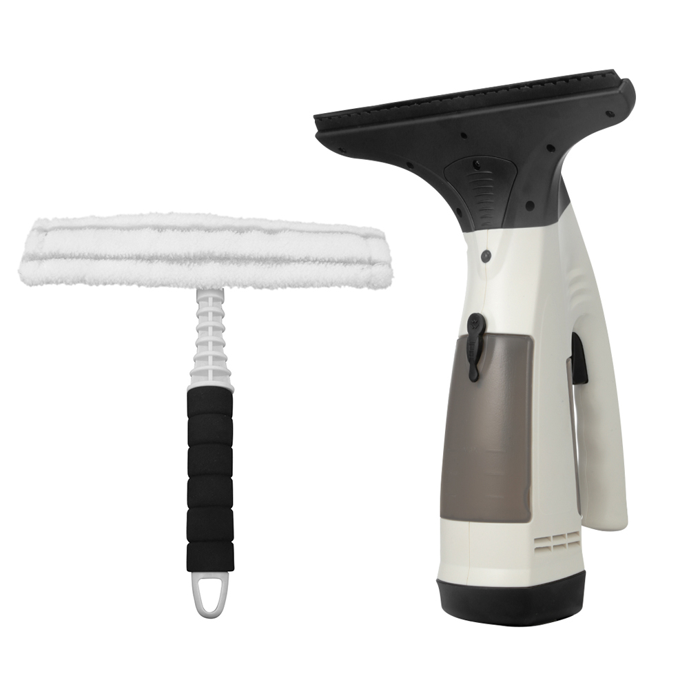 Rechargeable Cordless Hand-Held Window Glass Vacuum Cleaner Glass Wipe Brush Window Wiper Washing Windows Glass Cleaning Brushes