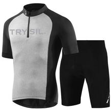 Summer Cycling Jersey Set Men Mountain Bike Clothes Quick Dry Bicycle Clothing MTB Bike Shorts Sportswear Cycling Jersey Suit pro cycling jersey set cycling wear for summer mountain bike clothes bicycle clothing mtb bike cycling clothing cycling suit