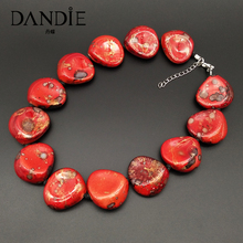Dandie Fashionable acrylic bead necklace, simple female jewelry