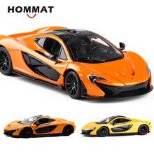 HOMMAT シミュレーション 1:24 スケールマクラーレン P1 モデル車のおもちゃ合金 Diecasts おもちゃ車車モデル 1/24 グッズギフト子供おもちゃ