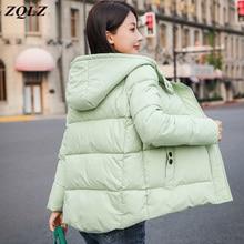 Zqlz 2019 Hooded Parka Mujer Winter Warm Coat And Waterproof Jacket Women Plus S