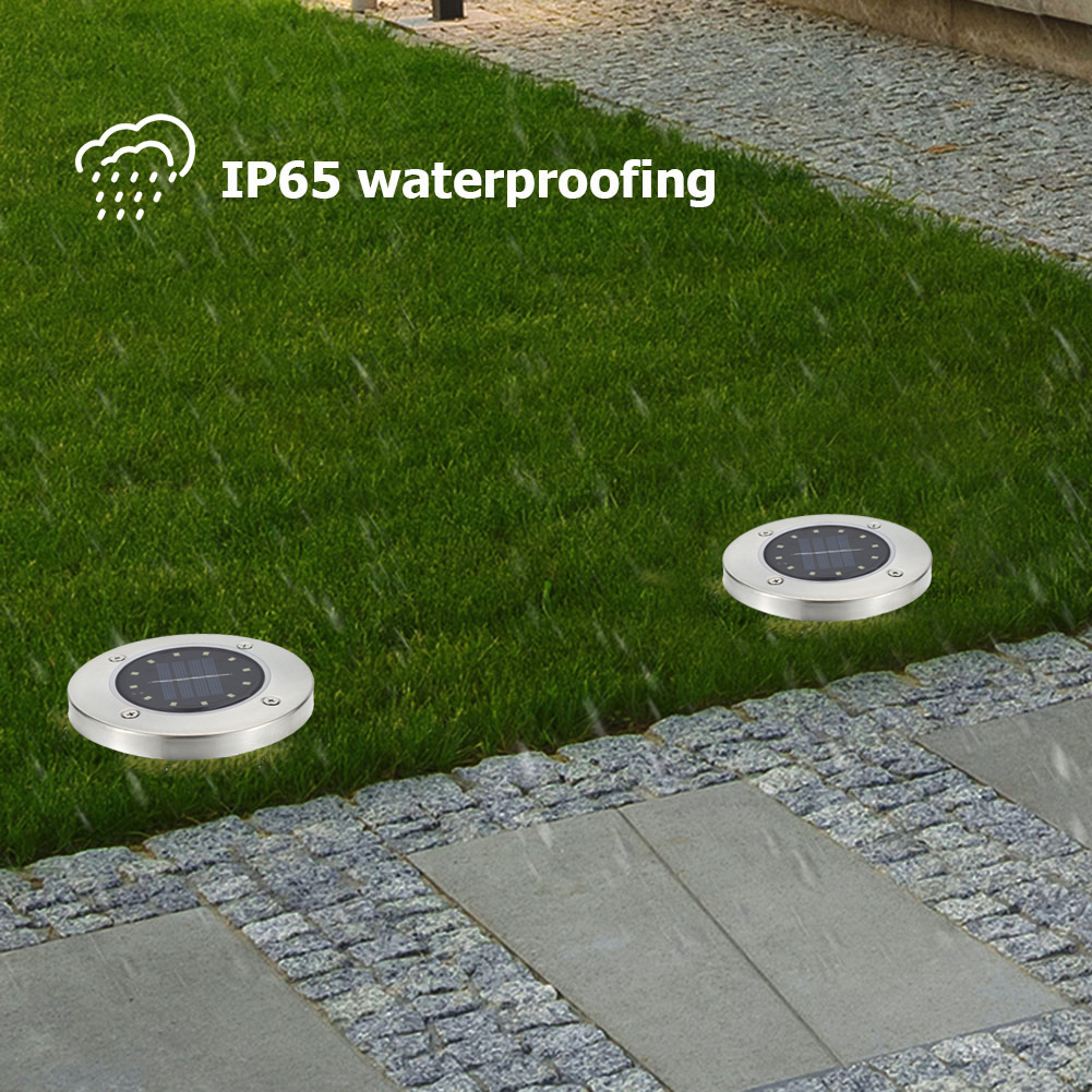 livre decorações do jardim piso gramado à prova dfootágua footlight