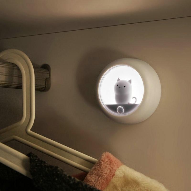 Kawaii Cat Smart LED with PIR Motion Sensor