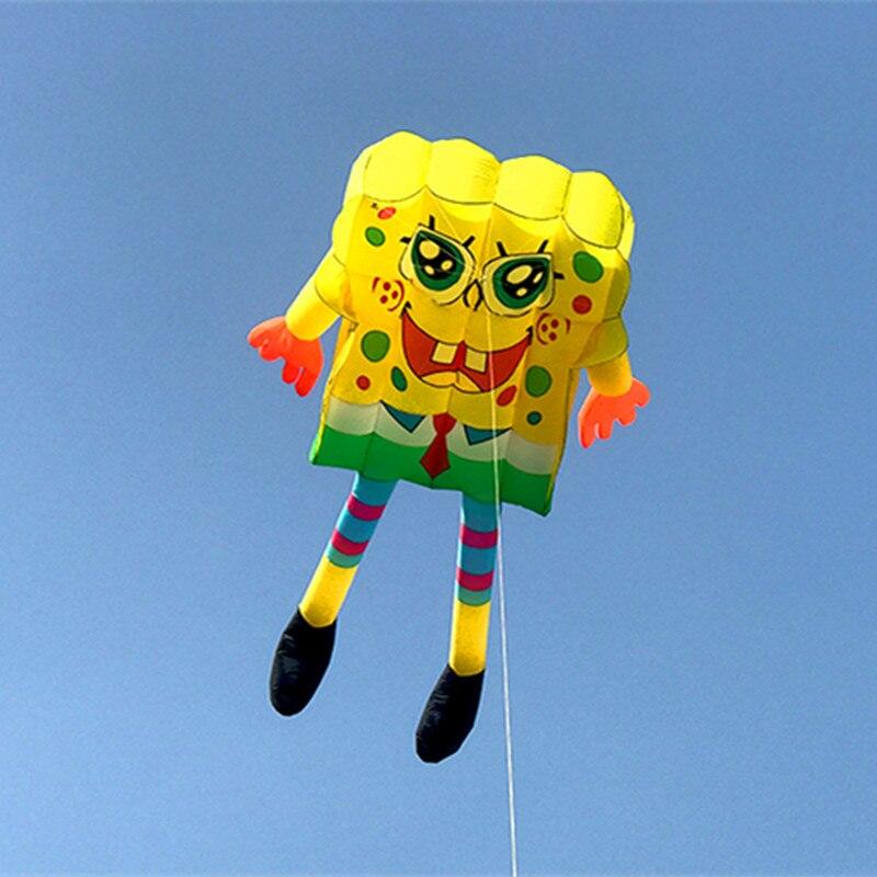 Livraison gratuite 10sqm pilote grand cerf-volant doux mouche cerf-volant chaussette à vent weifang grande roue de cerf-volant pour adultes albatros sports de plein air trilobites