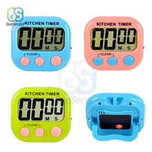 Magnetic LCD Digital Kitchen Countdown Timer Alarm with Stand Kitchen Timer Practical Cooking Timer Alarm Clock Cooking Tools