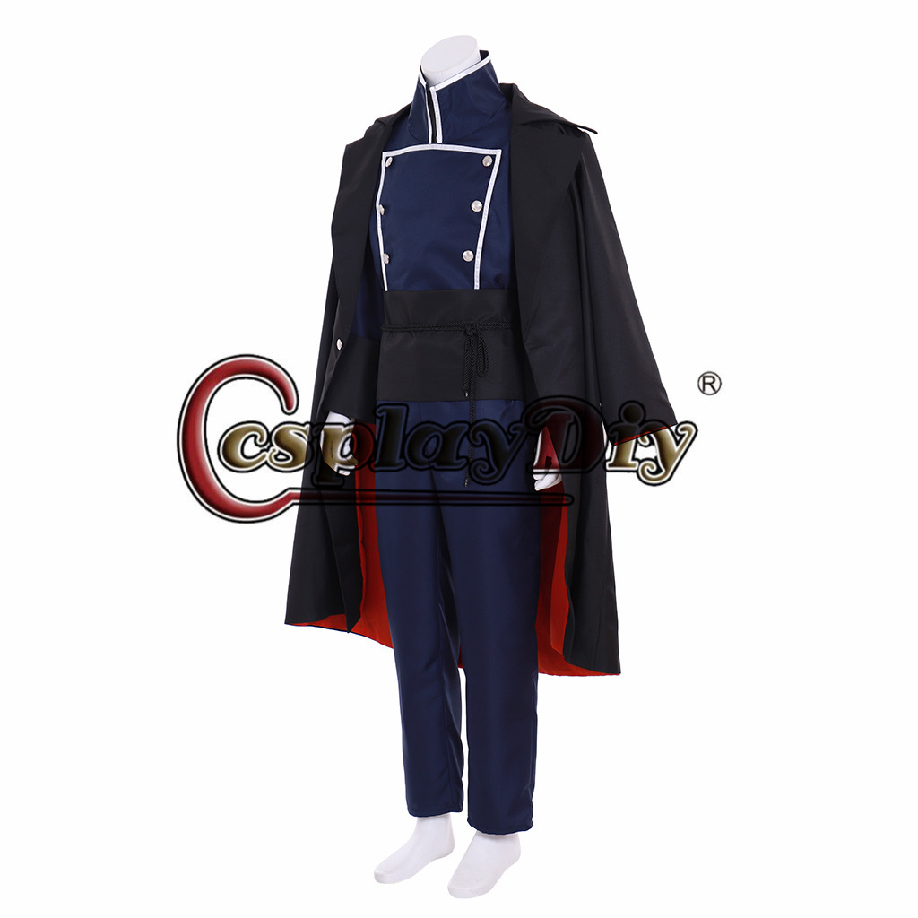 The Arcana game Julian Military Uniform Cosplay Costume Outfit Cloak Jacket