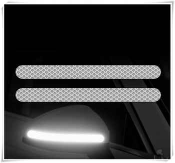 2PSC Car Reflective Rearview Mirror Reversing Night Safety Warning for BMW 530Li 335i 750i 330i 325i 320si 630i E34 F10 F20 image
