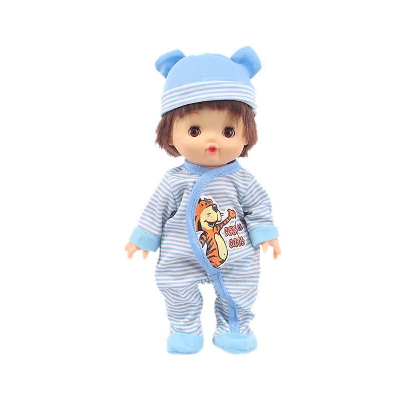 Boneka 14 Gaya St George Boneka Santai Hewan Lucu Piyama Cocok 25Cm Mellchan Baby Doll Aksesoris Pakaian, Generasi gadis Hadiah Mainan