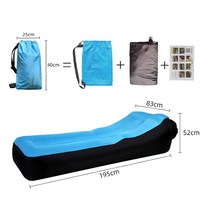Beach lounge chair outdoor lazy inflatable sofa indoor portable inflatable sofa camping pad  camping equipment sillon de playa