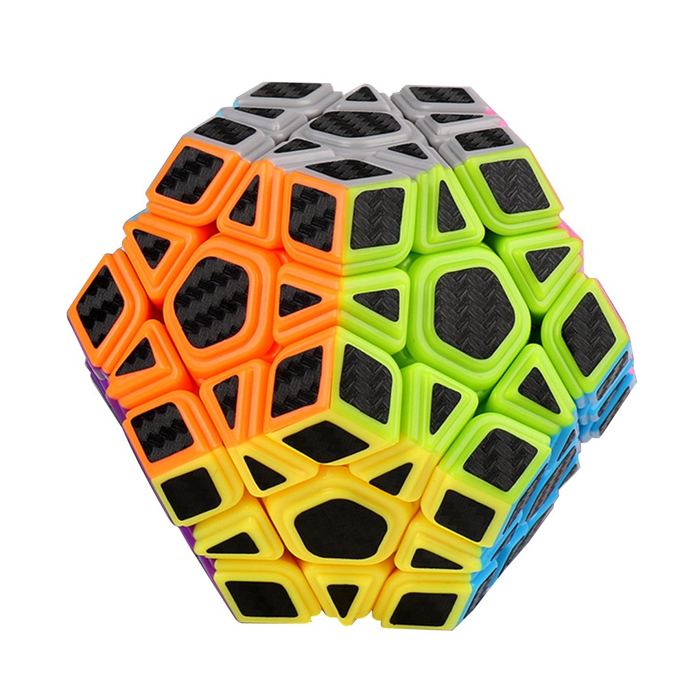 Magic Cube Pyramid Multi-Order Magic Cube Carbon Fiber Sticker Series Magic Cube Children'S Educational Toys 7