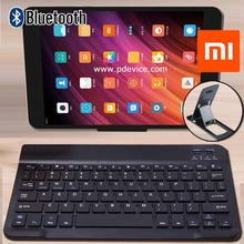 Slim Bluetooth Keyboard Portable Wireless Keyboard for Xiaomi Mi Pad 4 Plus Tablet Rechargeable Keyboard for Android Ios Windows