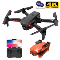 2021 nuovo K9 Pro Mini Drone 4k videocamera Hd professionale Rc Quadcopter Wifi Fpv altezza rimane droni pieghevoli elicottero giocattolo VS E525