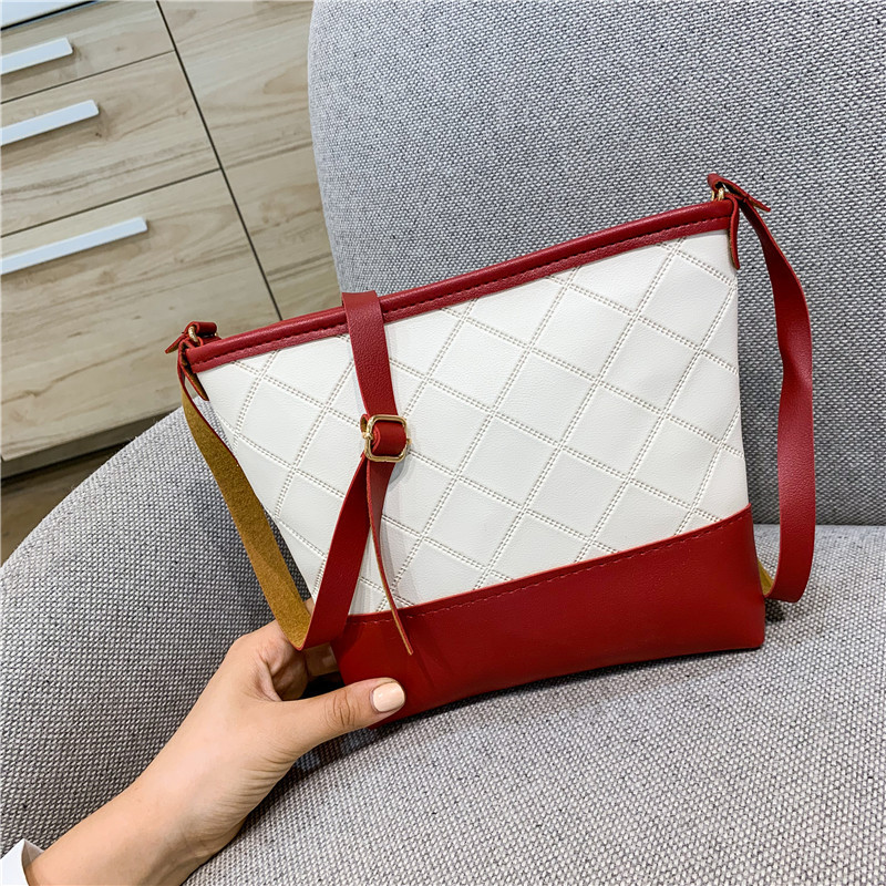 Fashion 2020 Pu Leather Crossbody Bags For Women Small Shoulder Messenger Bag Ladies Travel Handbags 2-817-2 title=