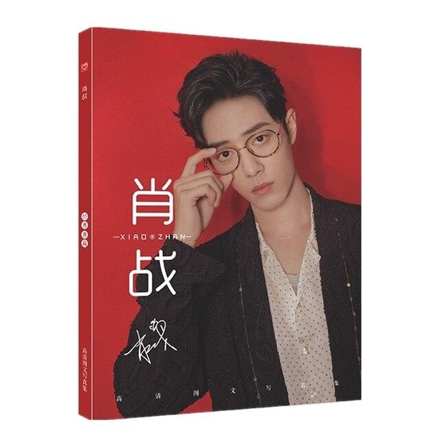 Affiche de peinture artistique Chen qingling, Xiao Zhan Wang Yibo, marque page, Album Photo