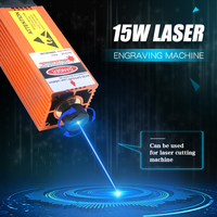 15W 450nm Laser Module Blue Light laser Head cutter Laser engraver Laser engraving machine Woodworking Machinery Parts