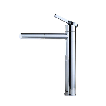 Dropshipping Bathroom Basin Sink Tall Faucet Hot Cold Water Mixer Tap Sink Faucets P666