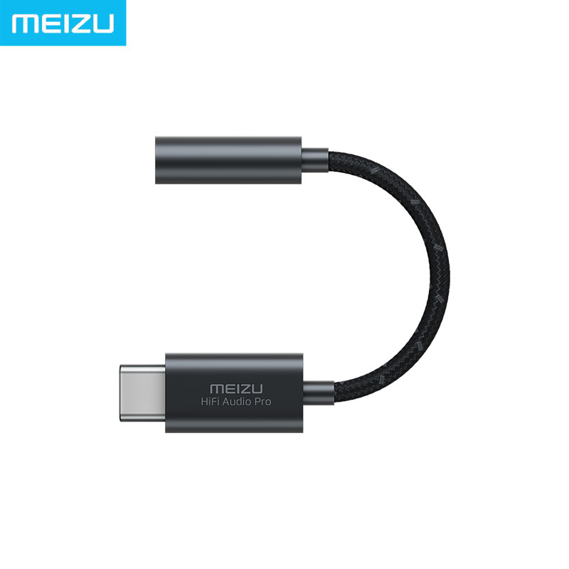 For Fans Meizu HIFI DAC Headphone Amplifier PRO Cirrus & TI Super Two Stage Amplifier Lossless Type-C To 3.5mm Audio Adapter