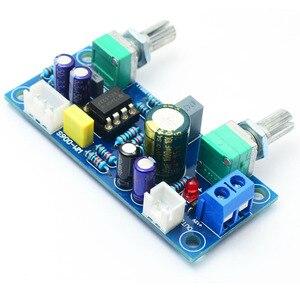 Image 2 - Hot 3C Low Pass Filter Bass Subwoofer Pre AMP Amplifier Board Dual Power NE5532 Low Pass Filter Bass Preamplifier DIY Kit