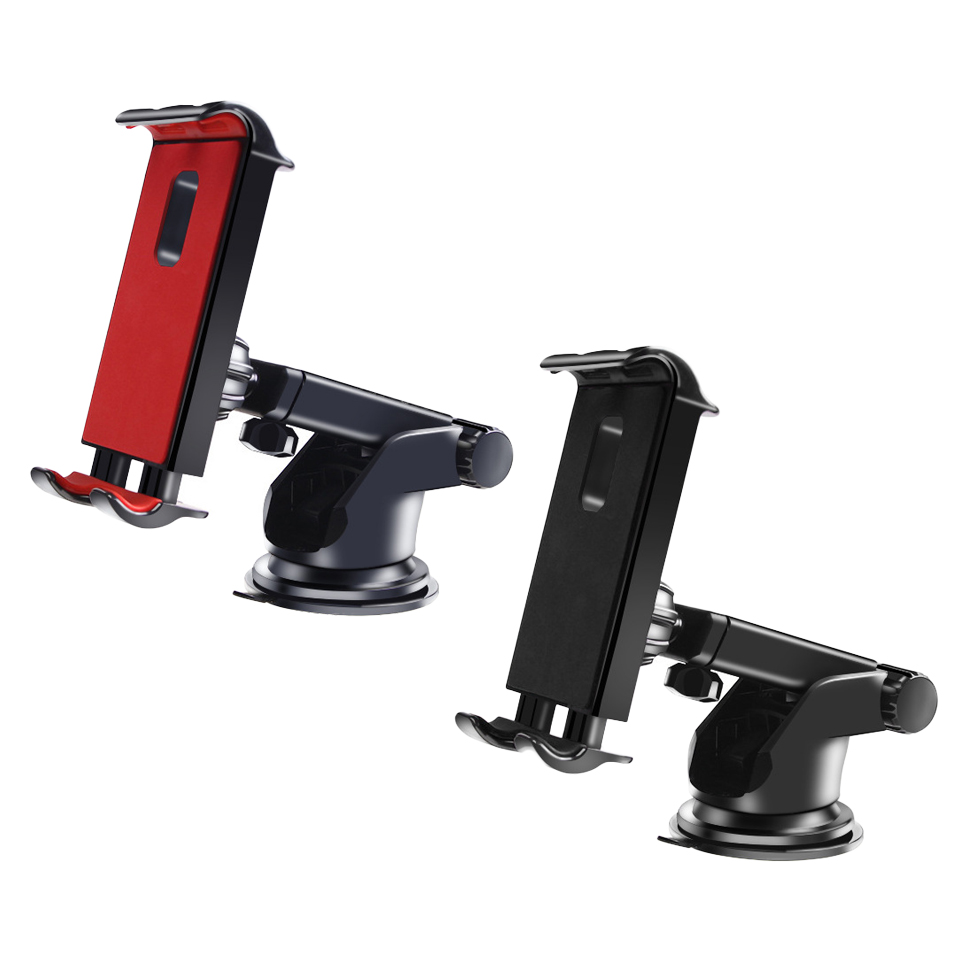 Support de tablette support de voiture tableau de bord 360 degrés support de tablette pour Ipad Huawei iPhone Samsung support de tablette réglable