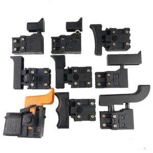 Image 4 - Miniatur Power Tool Schalter Speed Control Trigger Taste für winkel grinder Elektrische hammer Auswirkungen bohrer Ausrüstung Zubehör