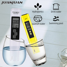 TDS Tester Meter for Water Quality Testing, 3-in-1 (TDS,EC,Temperature), 0-9990 ppm + Digital pH Meter and Tester 0-14 pH 40%off