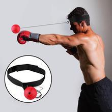 Боксерский скоростной ударный мяч для тренировки координации