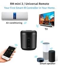 Broadlink RM4C ミニ 2020 rm Mini3 alexa amazon wifi ir 互換 google ホームワイヤレススマートリモコン ios 音声制御