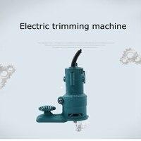 Multifuncional máquina de aparar madeira elétrica curvada linha reta 350 w ac aparar superfície fácil operação ferramentas diy