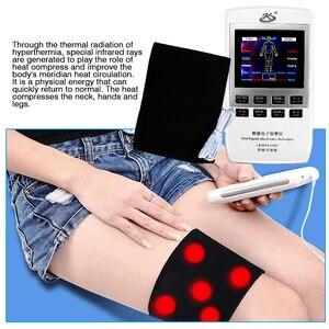 Image 3 - الرعاية الصحية عشرات الوخز بالإبر مدلك EMS العضلات محفز الألم الإغاثة مدلك الظهر الرقبة الجسم 18 بساط التدليك الخلفي مدلك