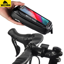 Case Handlebar Bicycle-Accessories Phone-Holder Bike-Mount Mobile-Phone-Stand-Bag Cycling
