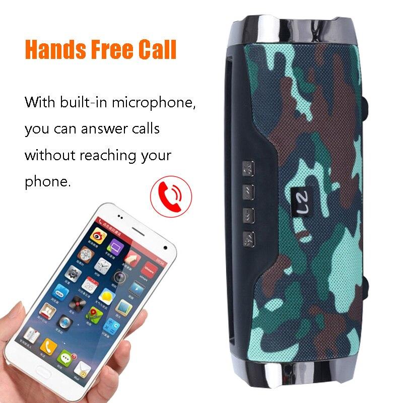High Power 40W speaker Wireless Bluetooth Speaker Portable Outdoor som Boom box music senter With Phone Holder column 3