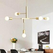 LED Pendant Chandelier For Living Room Bedroom Home Industrial Light Modern Loft Ceiling Lamp Lighting