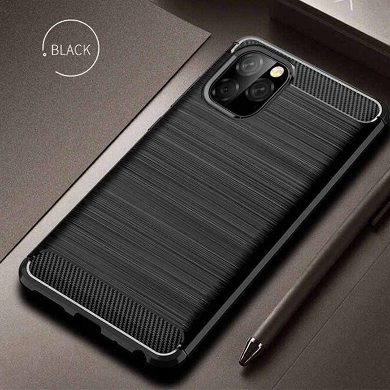 鎧スーパーアンチショックシリコン Tpu ケース iPhone 11 プロマックス XR XS × SE 5 5s 6 6s 7 8 プラスカバー高級バンパーソフト電話ケース