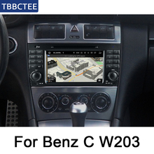 For Mercedes Benz C Class W203 2004~2007 NTG IPS Android Car DVD GPS Navi Map multimedia player Autoradio WiFi System цена