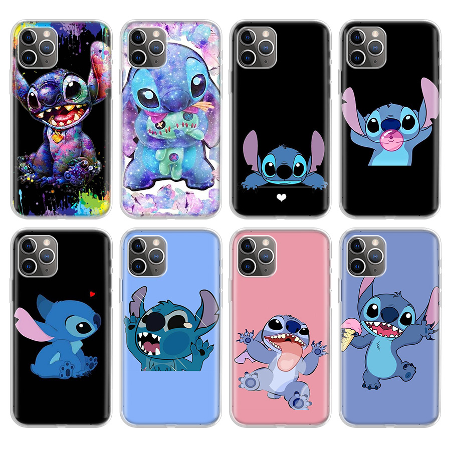 Cartoon Cute Stich Stitch Phone Case For Apple iPhone 11 Pro 6 6S 7 8 Plus 10 X XS MAX XR 5 5S SE Phone Case Cover