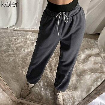 Womens High Waist Casual Cotton Haroun Pants