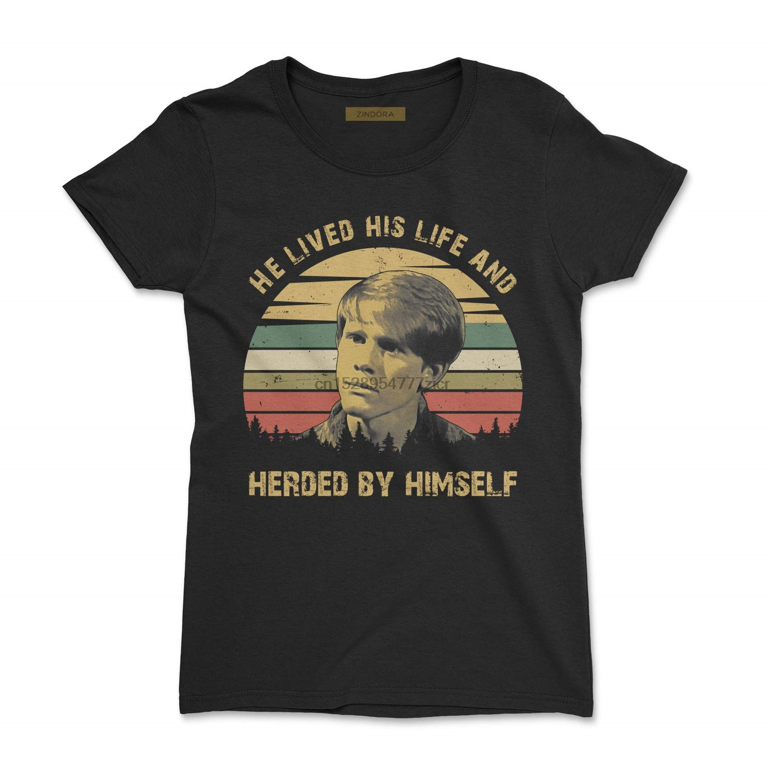 He Lived His Life and Herded by Himself Vintage T-Shirt