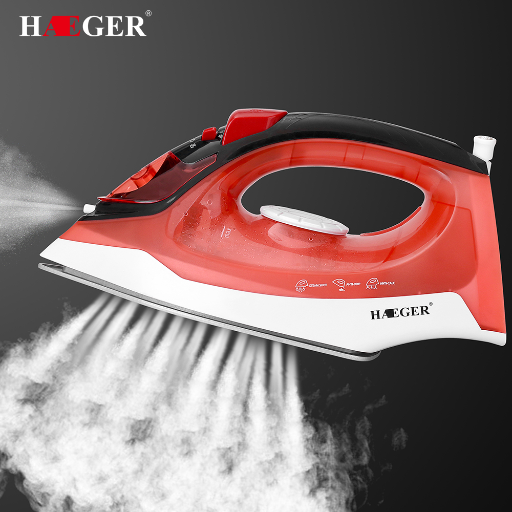 220V 1800W Iron Electric Steam Iron Dry Wet Ironing Plancha a Vapor Para Ropa for Clothes Household Appliance hot