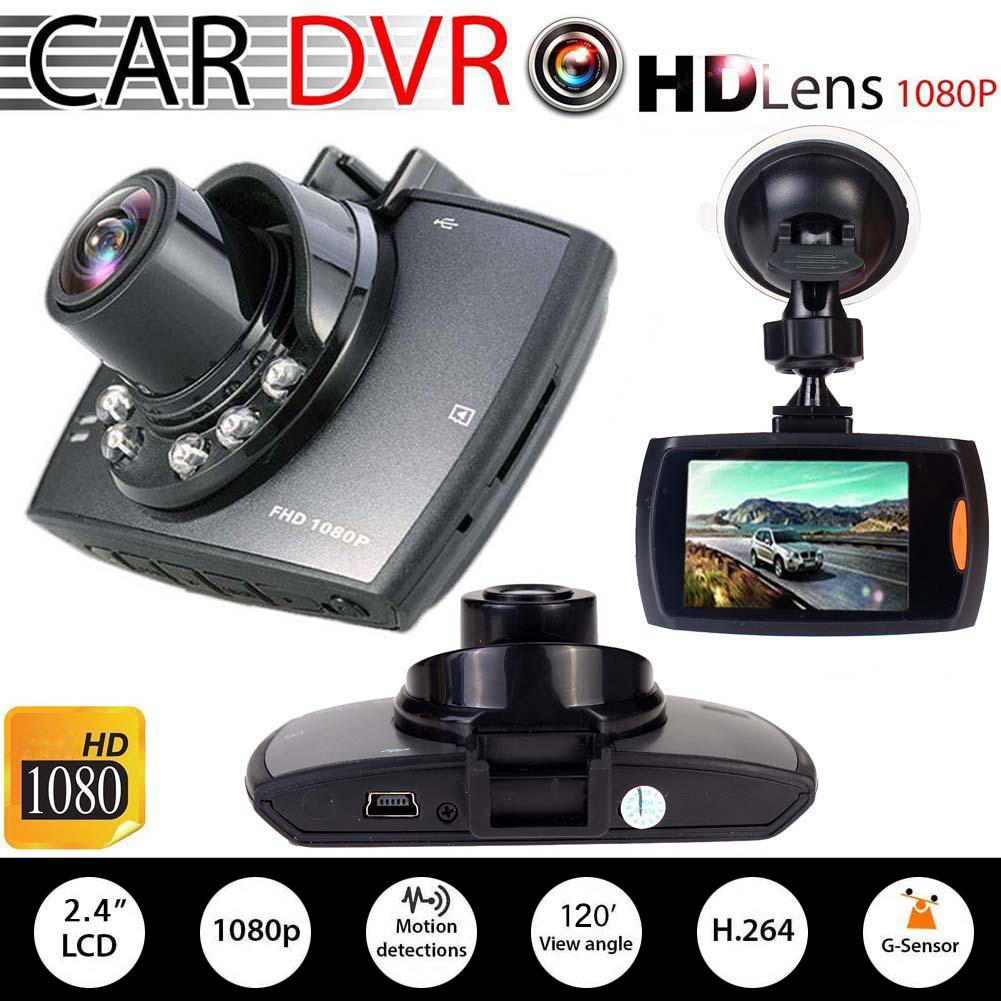 HD 1080P <font><b>Car</b></font> <font><b>DVR</b></font> <font><b>Vehicle</b></font> <font><b>Camera</b></font> <font><b>Video</b></font> <font><b>Recorder</b></font> Dash Cam G-sensor Night Vision image