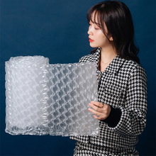 300M Buffer Air Cushion Film Roll Wrapping Roll Shock-Proof Plastic Wrap package Air Bubble Cushion Film Wrap Packing Material