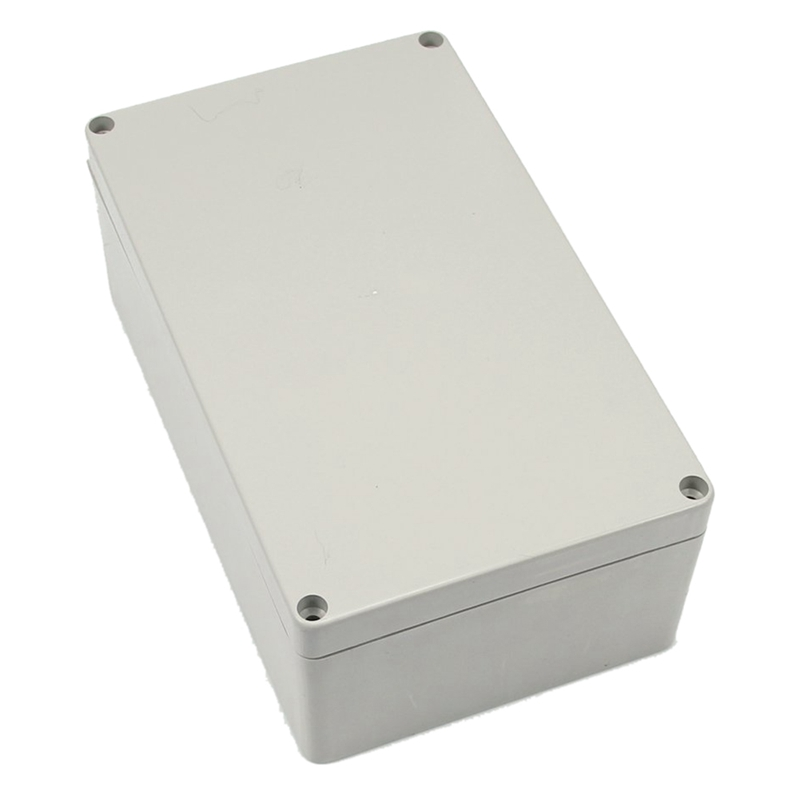 Gray-white Waterproof Plastic Project Box Enclosure 200*120*75MM