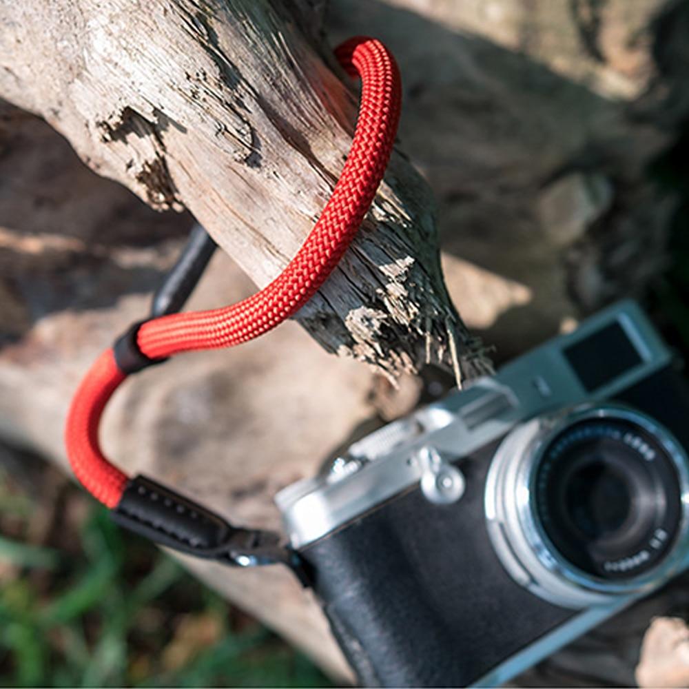 Color : Gray Camera Belt Accessory Handmade Nylon Digital Camera Wrist Strap Hand Grip for Digital Camera Strap Durable